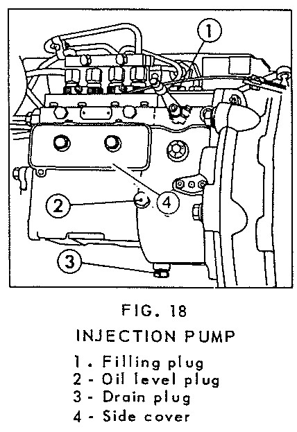 ford 3000 tractor injection pump